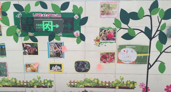 大班主题墙:我们在春天里